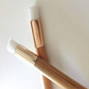 العلامة التجارية الجديدة الجمال الأنف البثرة فرشاة غسل الوجه تنظيف فرشاة ماكياج فرش خشبي لحرية الملاحة