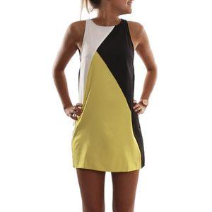 Wholesale- Women Summer Casual Sleeveless Evening Party Beach Dress Short Mini Dresses Vestido