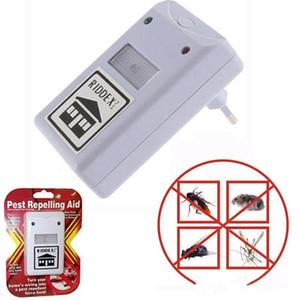 NEW Riddex elektronische Schädlingsbekämpfer Schädlingsabweisende Hilfe Ultraschall / elektromagnetische Anti-Moskito-Maus Insekt Schabe Kontrolle LLFA
