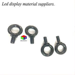 LED de exibição em movimento de publicidade LEVOU painel de acessórios de instalação da tela anéis de pingente pequeno levou caixa de luz acessórios