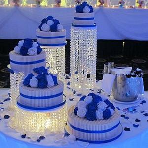 Freies Verschiffen 5 stücke viel Acryl Kristall kuchenständer herz Hochzeitstorte Display Geburtstag dekoration party