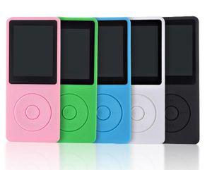50pcs nouveau haut-parleur intégré lecteur de musique MP3 de stockage de 8 Go et 1,8 pouces écran FM enregistreur vocal multifonctionnel Media Player