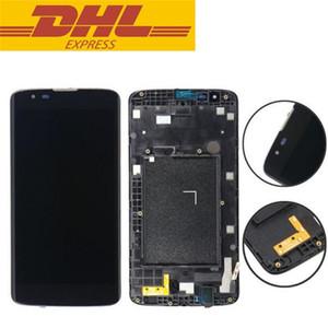 New chegam para LG Tribute 5 K7 LS675 MS330 LCD digitalizador de exibição Com Frame Assembly completa 5.0inch Celular Reparação de peças por atacado