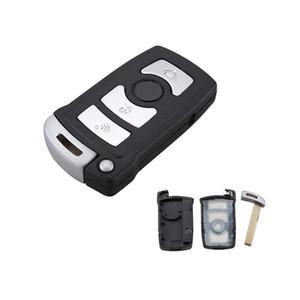 Garantizado 100% para BMW 7 Series 745 750 i Li Smart Car Keyless Remote Fob Key Shell Case 3 botones envío gratis