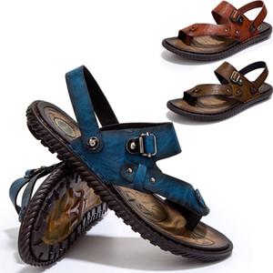 Новая мода горячие продажа Весна Лето Осень мужчины тапочки квартиры обувь дышащая сетка выдалбливают сандалии досуг обувь Повседневная обувь