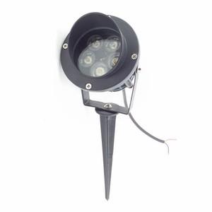 5X1 W Yüksek Güç Bankası veya Spike Ile LED Yol Spot Işık LED Çim Spike Işık LED Inground Sel ışık