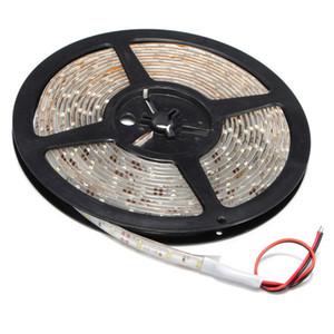 3528 SMD 5m 300 LED Luces de tira Pure White Flexible Lights Cinta de la lámpara impermeable DC 12V 60 SMD LED por metro