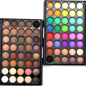 40 colori palette colori dell'ombretto Earth Colors Shimmer Glitter Earth Eye Shadow Set di potere Strumento di trucco cosmetico Make
