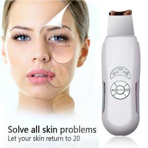 حار! جديد بالموجات فوق الصوتية منظف منظف الوجه منظف الوجه مدلك العناية بالبشرة عالية التردد الاهتزاز لتنظيف عميق المضادة للتجاعيد