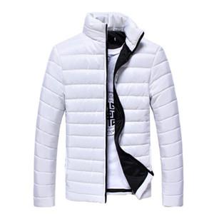 Großhandel-Herren Winter Daunenmantel 2016 Neue Weiß Schwarz Ultraleichte Daunenjacke Für Herren Parka Baumwolle Daunenmantel Outwear Männliche Kleidung 3XL 50