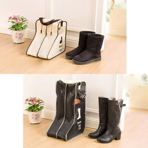 2 Taglia Stivali Scarpe Borse di stoccaggio - Armadio Cabin Shoe Cover Boots Organizer Storaging Bag Box With Zipper - Boots Protector