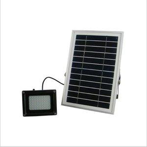 N500C 6В солнечная панель 6W 54 Сид SMD3528 IP65 водонепроницаемый Открытый сад Солнечной уличный светодиодный прожектор прожектор лампа
