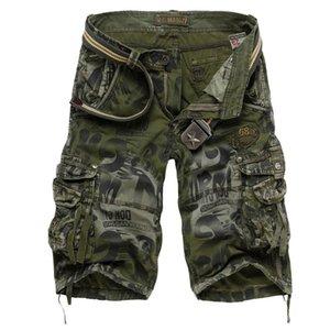 2017 männer Military Shorts Sommer Männer Camouflage Armee Cargo Shorts Workout Shorts Homme Beiläufige Bermuda Hosen plus größe