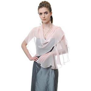 2017 nueva promoción de la colección Ladies Party Wrap hermosa nupcial del mantón del hombro cubre opcional colores libres por encargo