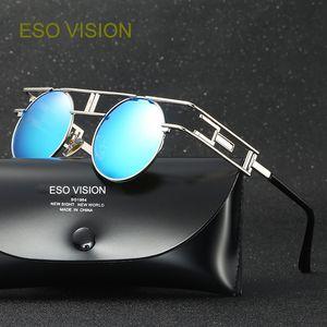 Moda Óculos De Sol para Homem Designer de Óculos De Sol para Homens Polarizar Rodada Vintage Polorized Óculos De Sol venda quente atacado Desconto freeshipping