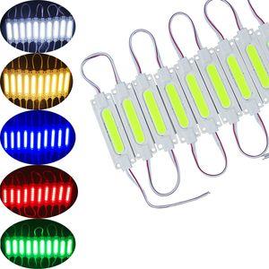 적색 / 청색 LED COB 모듈 라이트 광고 램프 2W IP65 방수 DC12V의 안전지도 배경 조명 따뜻한 화이트 /