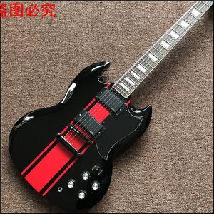 2017 Музыкальные Инструменты Китайские Электрогитары 22 Закрытая Ручка Бразилия Дерево Новое Прибытие Custom Shop Sg G400 Real Photo Shows
