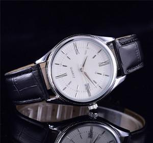 2017 ventes bracelet de cuir de qualité luxe automatique montre à quartz date de la mode masculine des montres de sport de loisirs pour hommes et femmes