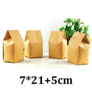 7 cm 21 cm einseitige Dichtung Lebensmittelqualität Verpackung Seitenfalte Teebeutel