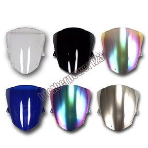 Оптовая 6 Цвет ABS лобовое стекло лобовое стекло для Kawasaki Ninja ZX6R 2009-2014 ZX10R 08-10