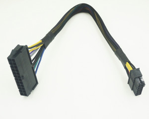 50 pçs / lote alta qualidade 30 cm 24pin 24 p para 14pin atx cabo do cabo de alimentação para lenovo q77 b75 a75 q75 desktop pc motherboard mainboard diy