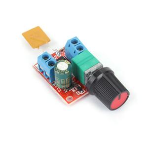 Livraison gratuite Mini Contrôleur de vitesse de moteur PWM Contrôleur de vitesse de vitesse 3V-35V LED Gradateur 5A