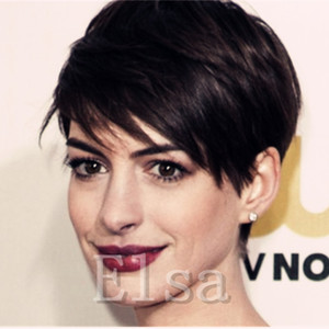 New Cheap Pixie Cut short glueless lace front human hair wigs for african americans Top Quality brazilian hair wigs