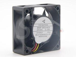 Brand New Melco MMF-06D24ES FC4 CA1027H09 60 * 60 * 25 mm DC 24V 0.10A Per ABB PLC Ventola di raffreddamento