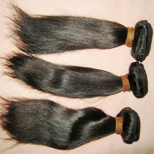 8A Malaisie Cheveux raides premières non transformées Cheap Human Hair Weave 3pcs / lot Prix Discount