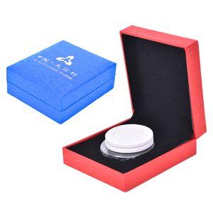 Collezione di astucci per espositori a gettone con 2 colori per Full o Half Completa con un regalo a forma di capsula