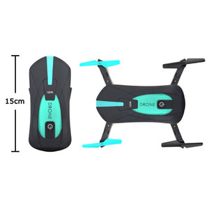 JY018 Mini Drone With WiFi FPV 2.0MP Camera Foldable RC Pocket Drone BNF G-Sensor Mode Air Press Altitude Hold