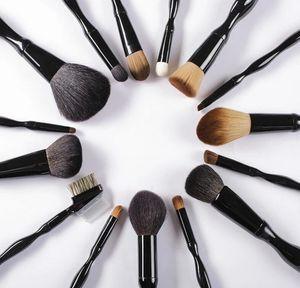 Femmes 15pcs Ensemble Professionnel Beauté Maquillage Pinceau Outils Kits Pour Ombre À Paupières Palette Cosmétique Brosses Outils