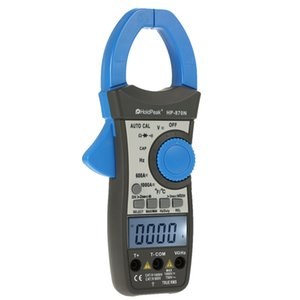 1000A True RMS Auto Range Digital Clamp Meters Capacitor Temperature 6000 Counts w  Dual LCD Backlight