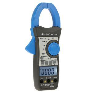 1000A True RMS Auto Range Digital Clamp Meter Temperatura del condensatore 6000 Conta con retroilluminazione LCD