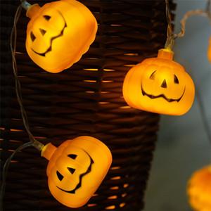 Хэллоуин тыква свет шнура 3 м 30 LED тыква реквизит бар украшения реквизит люминесценция тыква свет Шнура лампы