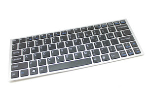 NEW SONY Vaio 9Z.N5USW.001 A1807420A Laptop US black Keyboard with Frame Replacement