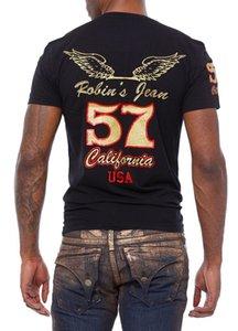 2017 Estate Nuovo Design Robin T-shirt Mens robin jeans camicie Uomo Tshirt Robin uomo bottoming robin shirt maglietta magliette top size taglia M- 3XL