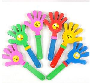 Freies Spiel Fußball Clap Clap Beifall Spielzeug Lärm Für Olympischen Spiel-Baby-Hand Clapper Maker Führende Kid Haustier-Spielzeug DHL Plastic Xqbrt