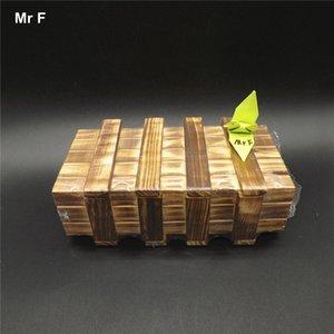 الأدراج الخشبية السحرية مربع داخل كونغ مينغ قفل مضحك لعب مناسبة ل هدية عيد المخفية الوسائل التعليمية لعبة تعليمية