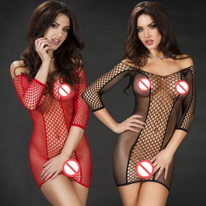 Sexy Lingerie Hot Sexy Dress Underwear Bodystocking Prodotti del sesso Kimono Erotic Lingerie Sleepwear Sex Toys Latex Women