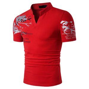 2017 neue Casual Polo T-shirt Europäischen Amerikanischen Stil Sommer Kurzarm Polos Shirts 3D Print Poloshirts Tees Für Männer