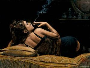 Freies Verschiffen, reines handgemaltes Porträt-Kunst-Ölgemälde auf Segeltuchdruck, Gil Elvgren Pin-up Girl setzen Feuerwerkskörper ab