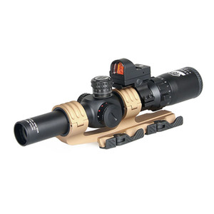 Canis Latrans Tactical Scope 2.5-10X26 스코프 1x 레드 닷 2 Scope Mount 무료 배송 CL1-0345