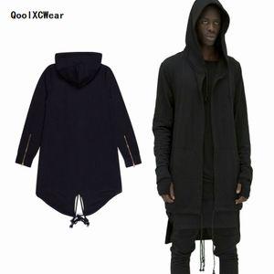 QoolXCWear Sudaderas con capucha Hombre / mujer con capucha Capa Plus Chal largo Doble capa con capucha Assassins Creed Jacket Streetwear Oversize