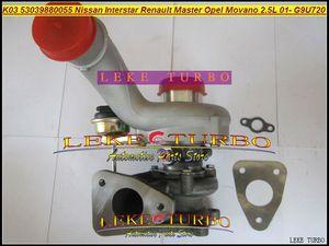 K03 53039700055 53039880055 Turbo Turbocompresseur Pour Nissan Interstar Pour Renault Master Pour Opel Movano 2001- G9U 720 G9U720 2.5L