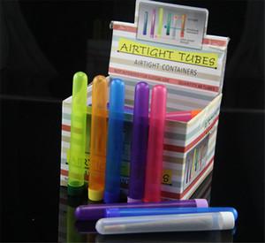 48 teile / Box Größe 115mm 135mm Doob Röhrchen Zigarettenspeicher Kegel Verpackung Tube Box Für Walzpapier Kegelrohr Lagerung Pill Box