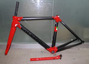 Nueva blacn rojo Colnago c60 cuadro de cuadro de cuadro de bicicleta de carbono bicicleta de carretera Marco de bicicleta Marco brillante azul de alta calidad