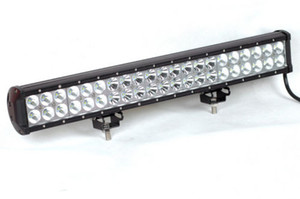 "20"" 126W LED Light Waterproof Work Light Off-road Vehicles Light Led Bar Work Lamp 3W* 42 LEDs Bar Truck Trailer LED Work Lamp"