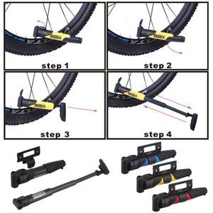Portátil mini 125g ciclismo mountain bike mini bomba portátil bomba de bicicleta dupla boca de gás acidente vascular cerebral atacado