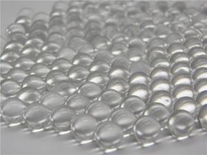 نوعية جيدة 3 إلى 6 ملم عالية الدقة الصلبة حبال النار الزجاج كرات المنجنيق حجر الرخام الشفاف وعاء زخرفة زهرة